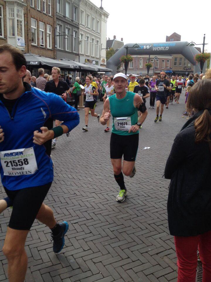 Singelloop Breda, halve marathon, 2013