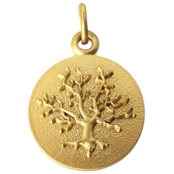 Médaille Arbre de vie (or jaune 18ct) (Martineau) sur PremierCadeau.com
