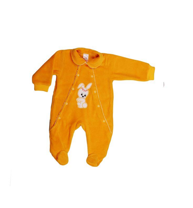 Salopeta din polar model 24 este perfectă pentru vremea rece. La nani sau la plimbare, copilul este protejat.