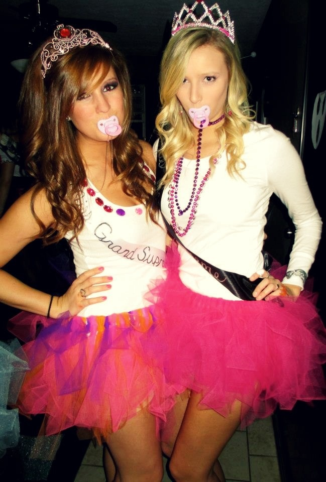 toddlers and tiaras halloween costumes with homemade tutus - Judy Moody Halloween Costume