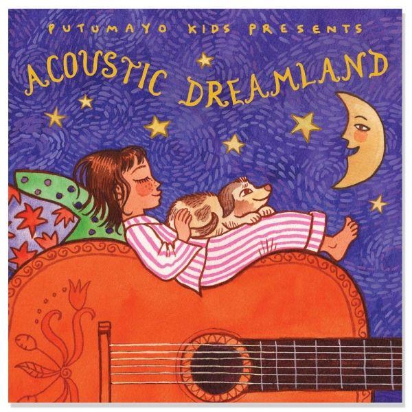 Putumayo Kids Acoustic Dreamland CD με Νανουρίσματα - Sunnyside