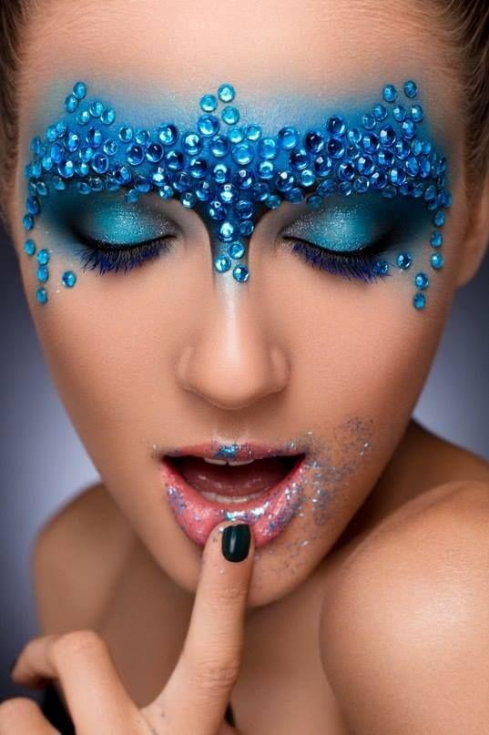 Shkola Masterskaya Krasoty | Makeup #mask #fantasy #beauty