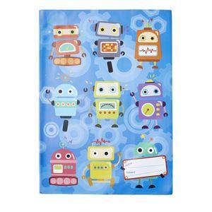 Studymate Book Cover Scrapbook Robots