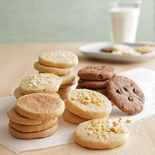 How to Make Your Own Slice and Bake Cookies -- A Helpful Guide to Delicious Treats from @EatingWell Magazine