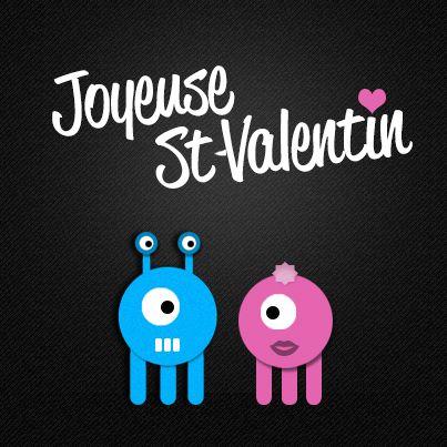 Happy Valentine's Day! Joyeuse St-Valentin! #webdesign #stvalentines #valentines #stvalentin
