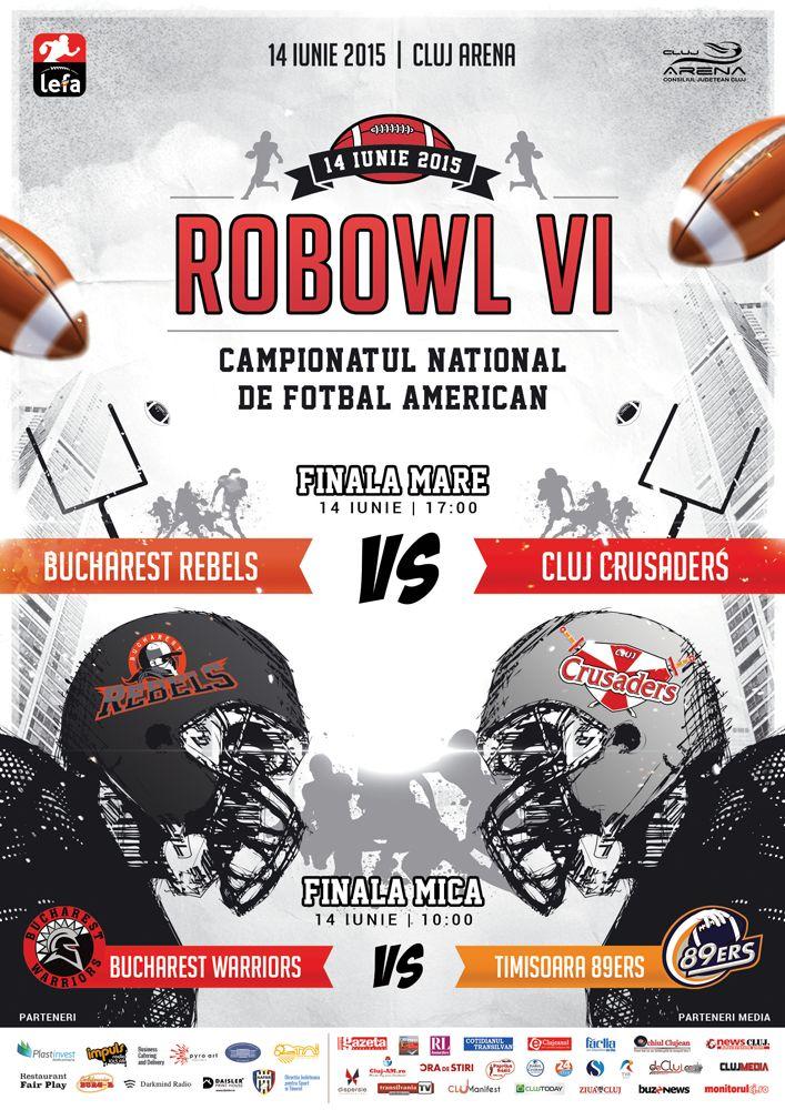 Finala Campionatului National de Fotbal American, ROBOWL VI