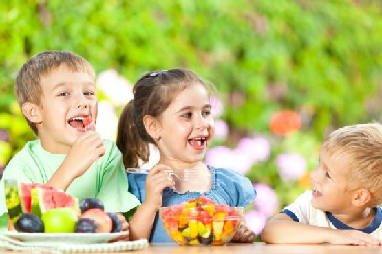 Healthy treats for children's party
