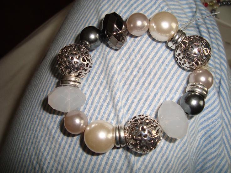 Chunky Mixed Bead Bracelet