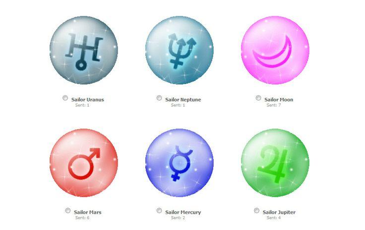 Sailor Moon symbols | Sailor Moon | Pinterest ...