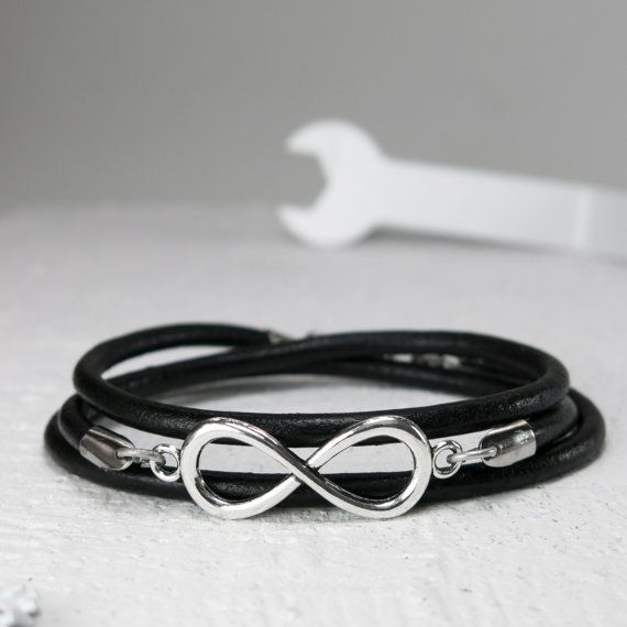 Men Bracelet - Men leather Bracelet - Men Anchor Bracelet - Men Nautical Bracelet - Men Jewelry - Men Gift - Boyfriend Gift - Guys Bracelet