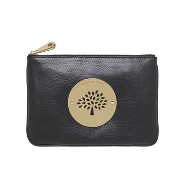 Mulberry Gift Kaleidoscope | Black - Daria Pouch in Black Soft Spongy Leather