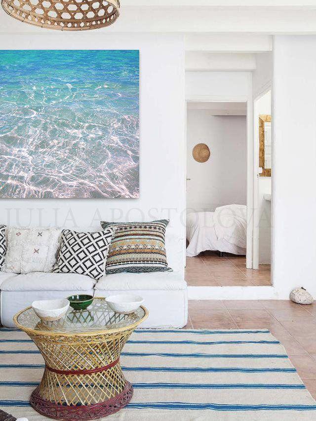 12 Modern Coastal Wall Art Ideas Beach And Ocean Inspired Art For Your Modern Coastal Living Room And Anywhere Else In Your H Modern Coastal Modern Coastal Art