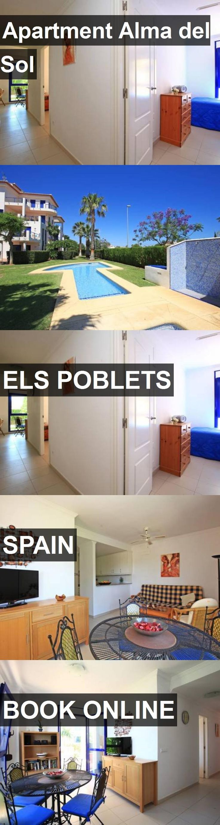 Hotel Apartment Alma del Sol in Els Poblets, Spain. For more information, photos, reviews and best prices please follow the link. #Spain #ElsPoblets #hotel #travel #vacation