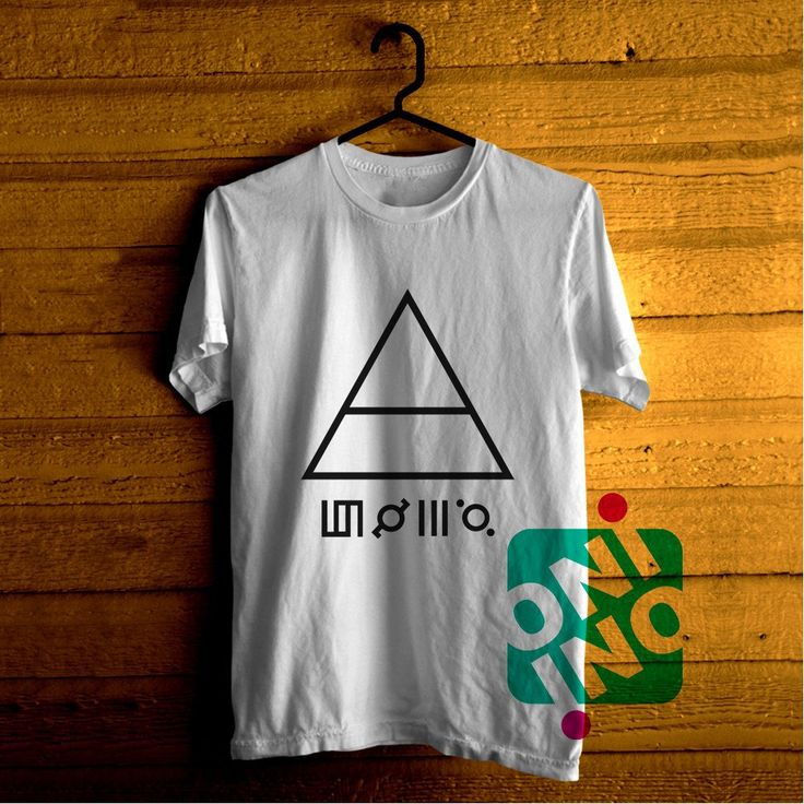30 Seconds To Mars Triangle Tshirt For Men / Women Shirt Color Tees