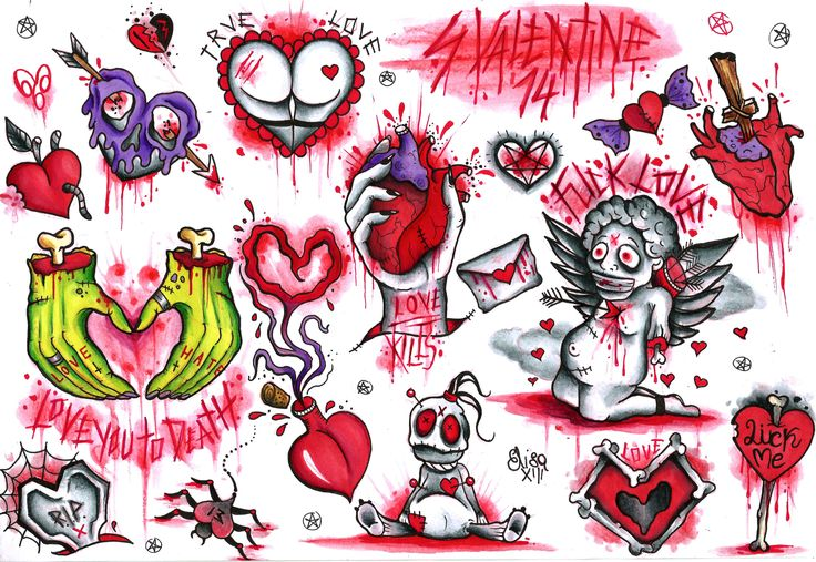 valentines day drawings for him
