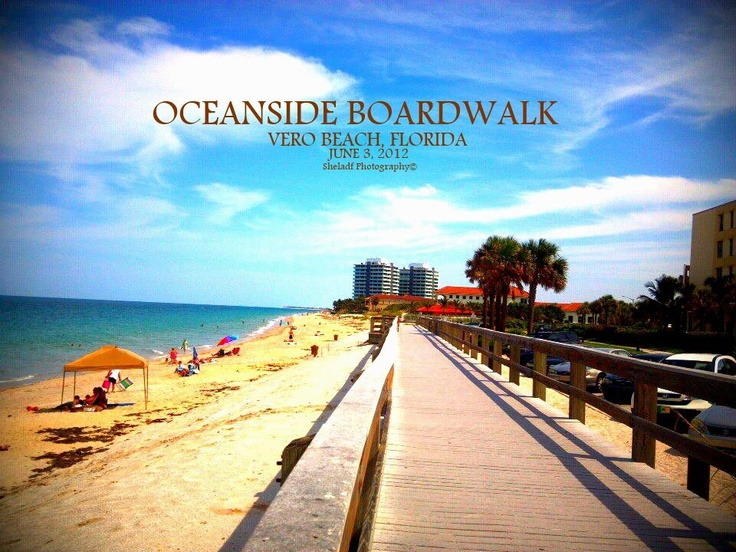 Oceanside boardwalk - Vero Beach, FL | POSTCARDS ...