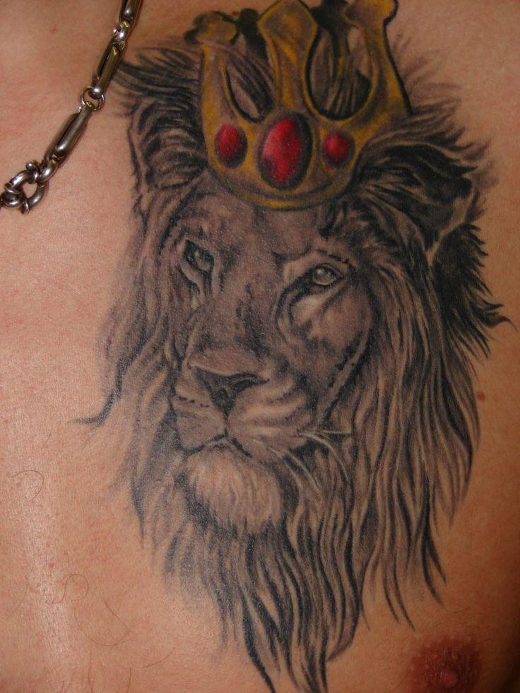 Leo Tattoos For Men