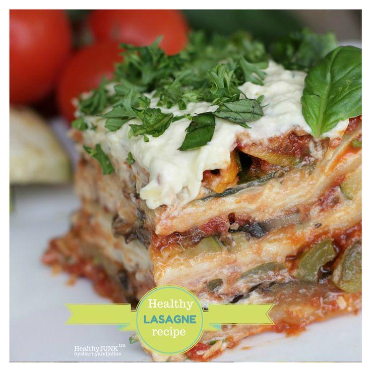 Healthy Lasagne Recipe | Sharny and Julius