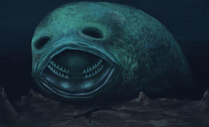Giant sea monsters art - photo#54
