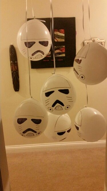 Storm trooper balloons