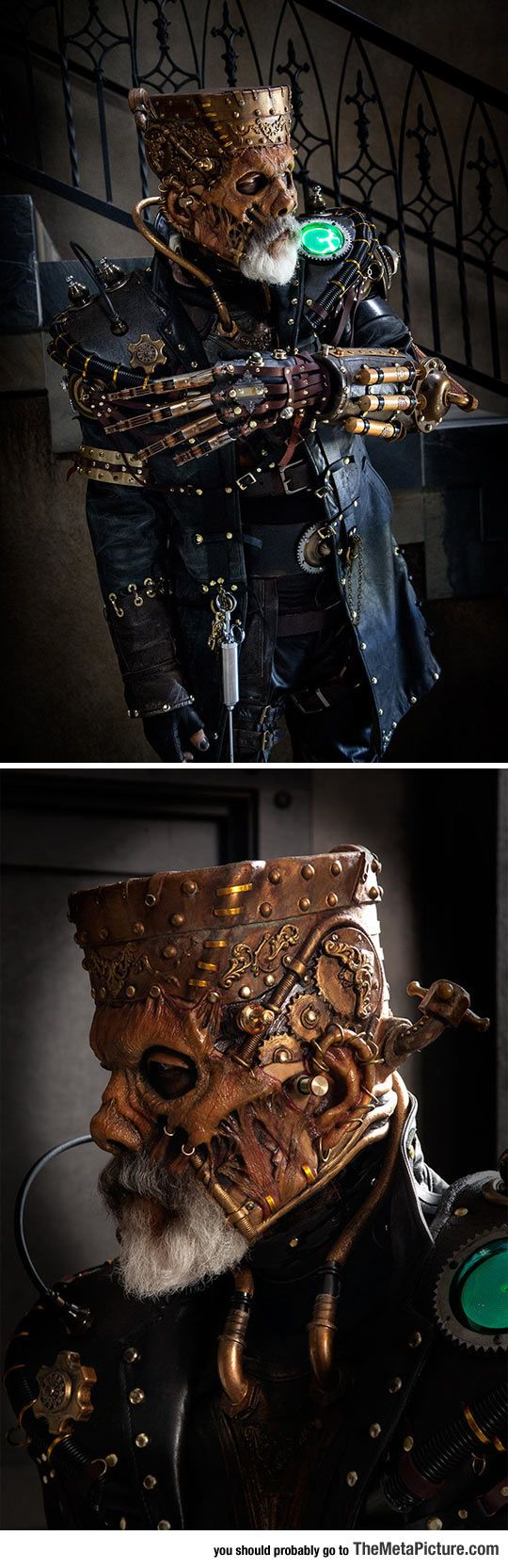 Steampunk Frankenstein Is Awesomely Terrifying
