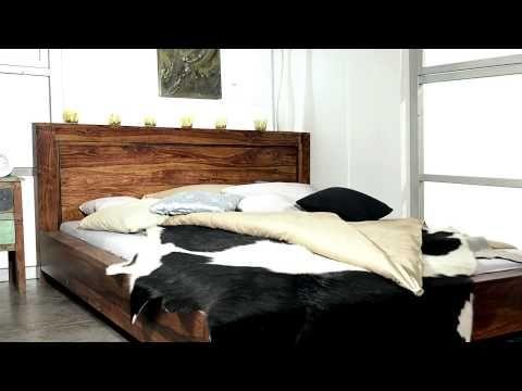 Zeitlose Palisander Massivholzmöbel von www.massivmoebel24.de - Design METRO LIFE