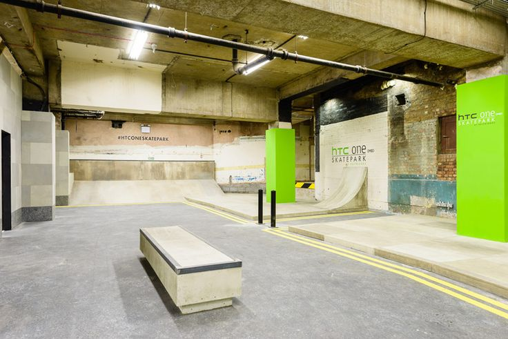 UK's largest covered skatepark by HTC and selfridges w/prime and fire, and factory media in london #htconeskatepark