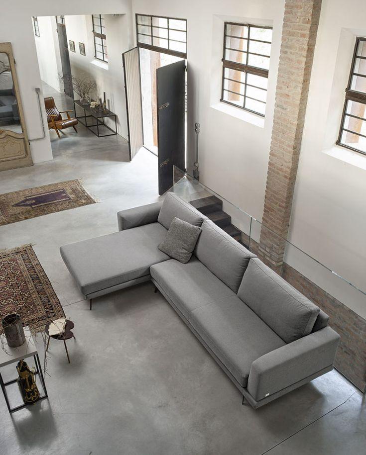 oltre 25 fantastiche idee su divano grande su pinterest | stanza ... - Lusso Angolo Divano Nel Soggiorno Camera Design Con Parete Di Vetro