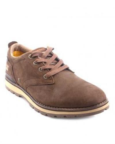 Brown Casual Shoes with laces for Men   http://www.priceblaze.pk/caterpillar-dark-brown-leather-rayden-men-casual-shoes-i-101673