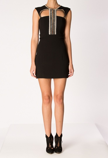 Look we love: Sexy Sass & Bide dress with cut-out panels @sass_and_bide #fashion