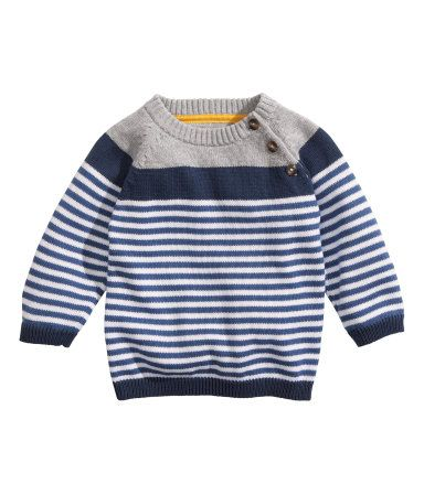 Striped Knit Sweater | H&M US - It's all about the little details!