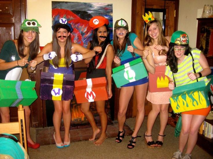 mario kart halloween costumes - Girl Mario And Luigi Halloween Costumes