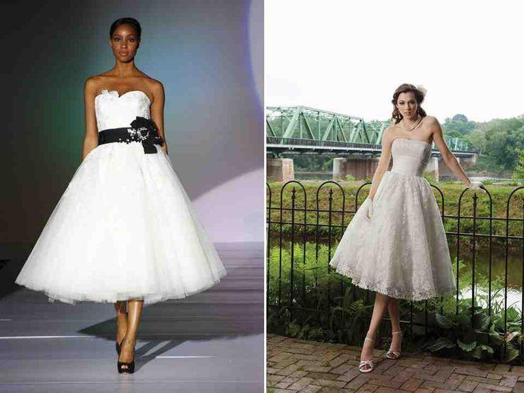 1000+ Ideas About Tea Length Wedding On Pinterest