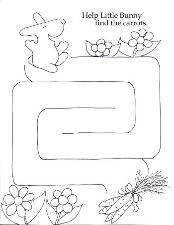 1000+ images about Mazes for kindergarten on Pinterest | The ...