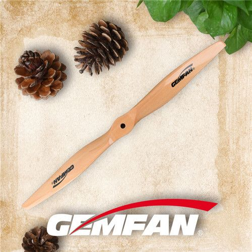 2010 2 blades Electric Wooden Indestructible Propeller Props CW CCW For Quadcopter