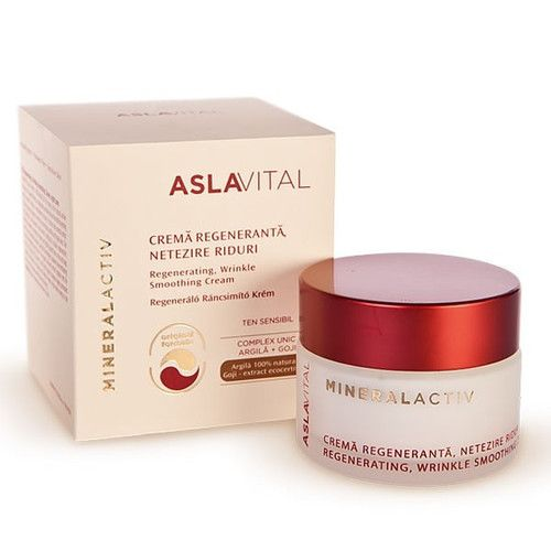 Regenerative Wrinkle Smoothing Cream (NightCare)AslaVital Farmec with Calendula