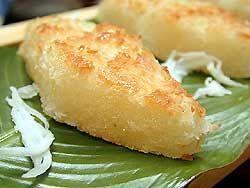 Thai Cuisine Recipe: Coconut Cake (KHANOM BA - BIN)