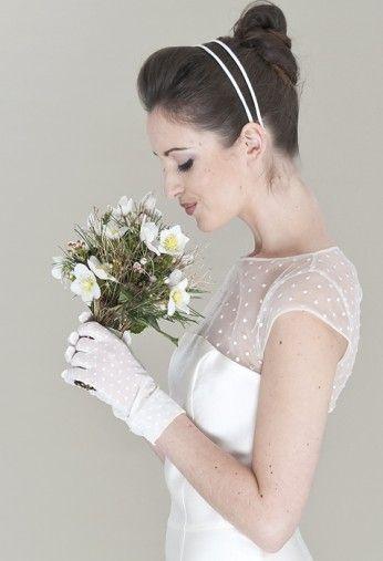 Hochzeitshandschuhe + Kleid