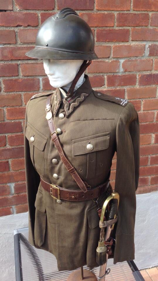 Polish uniform.