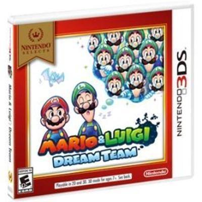 Nintendo - Mario and Luigi Dream Team 3DS