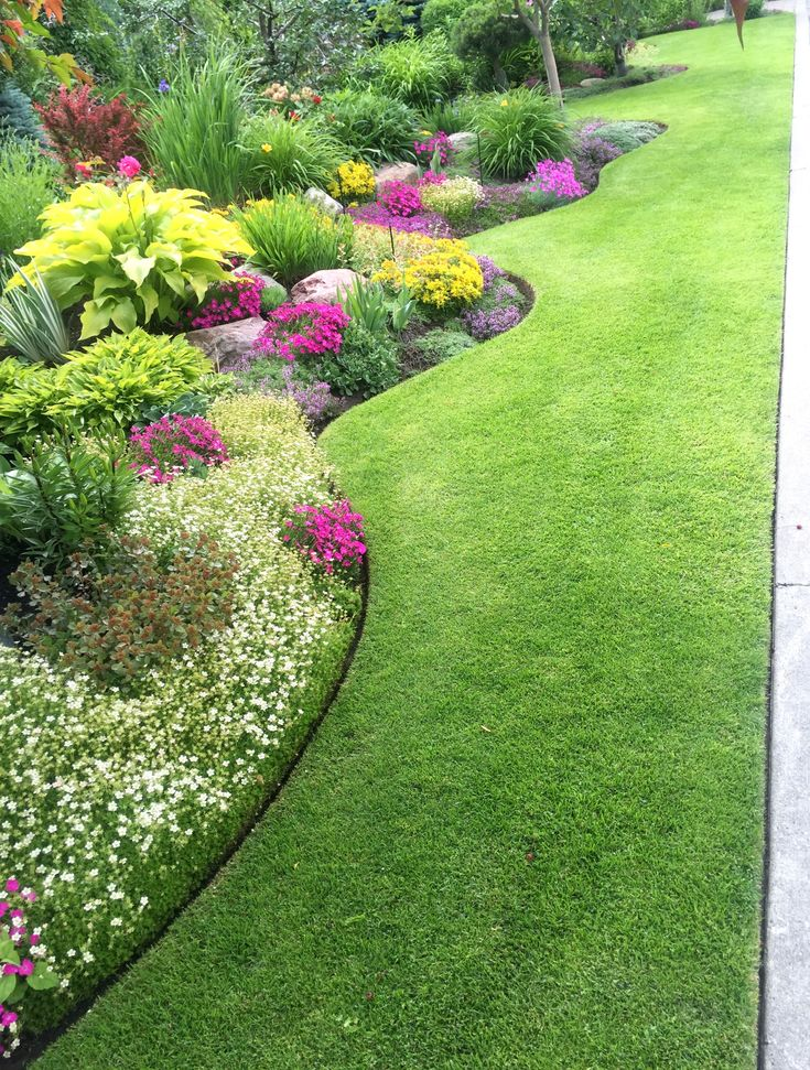 """I """"Love"""" the Perfect Edging! 18 Splendid Front Yard Landscaping Ideas and Ga… – Shane Silverthorn"""