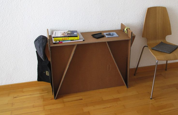 Простая мебель из картона - tutorial