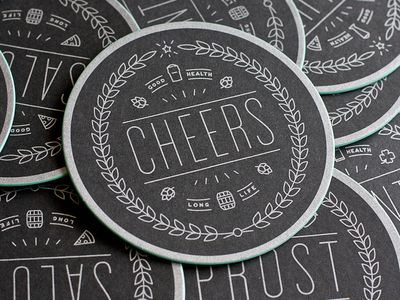 coaster clearance coaster design beer logos design branding design