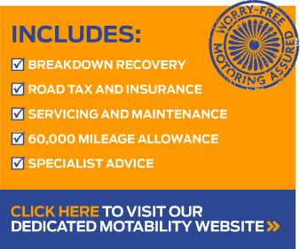 As a Premier Motability Partner, we go even further to help our Motability customers.