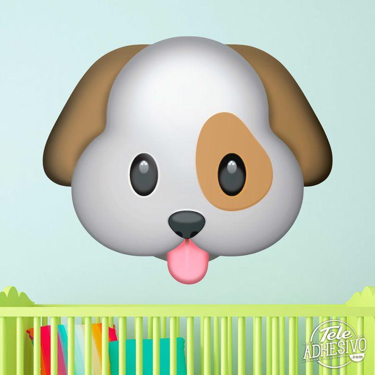 Vinilos Decorativos: Cara de perro 1
