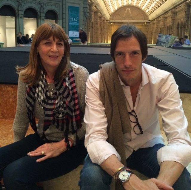 Ivan de Pineda y Graciela Smith en Mira Festival de Arte