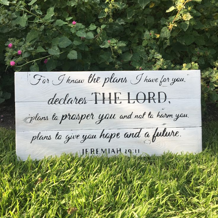 Wooden signs with scripture made from 100% reclaimed wood at PeacefulHomeSigns.com Jeremiah 11:29