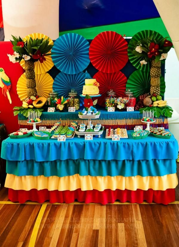 """Rio"" Themed 3rd Birthday Jungle, Bird Party - Addisons Party Ideas - The Place for All Things Party"