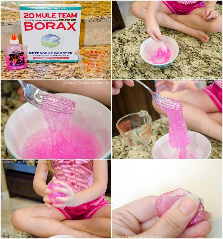 DIY Homemade Silly Putty