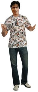 Charlie Sheen T-Shirt Adult Mens Costume #charliesheen #halloween #halloweenlife365 #easycostumes #halloweencostumes
